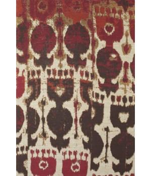CORONADO 0525F IN RED/BROWN 4' x 6'