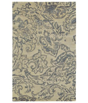 "MAHSA 8401F IN IVORY/GRAY 9'-6"" x 13'-6"""