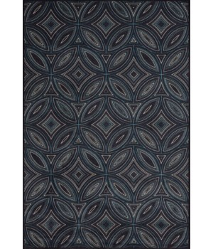 "AZERI 3841F IN BLACK/MULTI 2'-2"" x 4'"