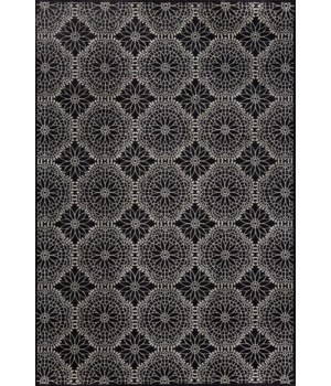 AZERI 3843F IN BLACK/ECRU 10' X 13'-2""