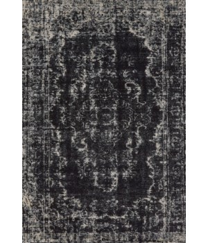 "AZERI 3845F IN BLACK/ECRU 2'-2"" x 4'"