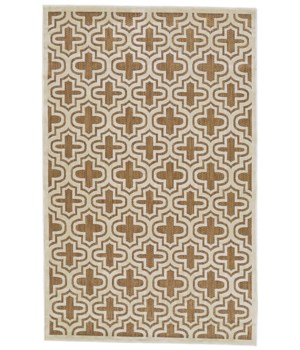 "RAPHIA II 3284F IN TAN/COTTON 7'-6"" X 7'-6"" Round"