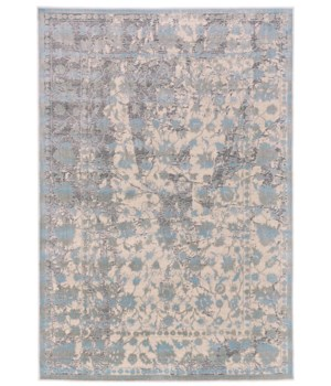"PRASAD 3681F IN LIGHT BLUE 1'-6"" X 1'-6"" Square"