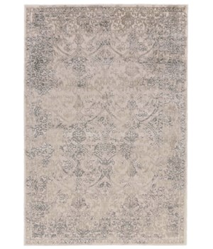 PRASAD 3682F IN LIGHT GRAY 5' x 8'