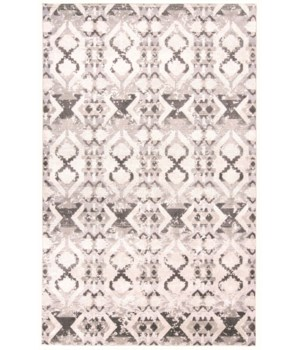 "PRASAD 3893F IN GRAY/IVORY 1'-6"" X 1'-6"" Square"
