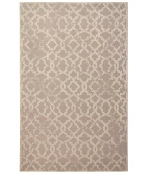"AKHARI 3675F IN IVORY 1'-6"" X 1'-6"" Square"