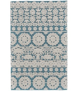 PRIMROSE 8574F IN SEA BLUE 8' X 11'
