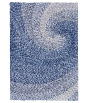 ALEXIA 4155F IN BLUE/GRAY 5' x 8'