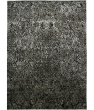"""MILSON 6050L IN CHARCOAL/SILVER 7'-9"""" x 9'-9"""""""