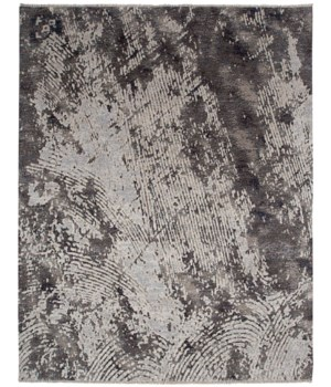 "HANNAH 6056L IN DARK GRAY/IVORY 1'-6"" X 1'-6"" Square"