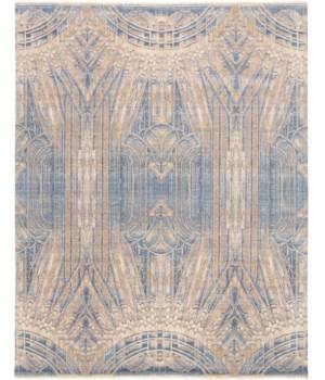 LYRA 6552F IN BEIGE/BLUE 4' x 6'