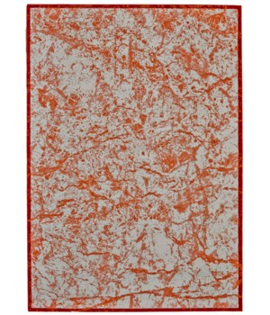 CAMBRIAN 3390F IN TANGERINE 8' x 8' Round
