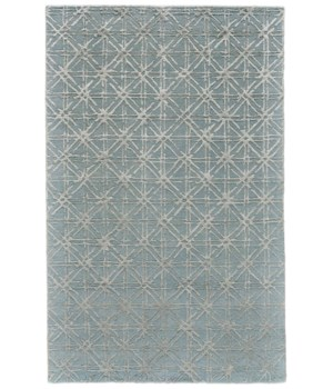 "MANOA 8353F IN BLUE/BEIGE 3'-6"" x 5'-6"""