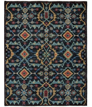 "PIRAJ 6454F IN BLUE 1'-6"" X 1'-6"" Square"
