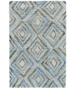 "ARAZAD 8448F IN BLUE 1'-6"" X 1'-6"" Square"