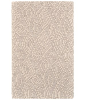 "ENZO 8738F IN IVORY/NATURAL 1'-6"" X 1'-6"" Square"