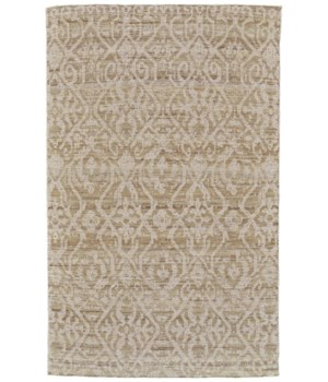 LEON 0119F IN NATURAL/IVORY 5' x 8'