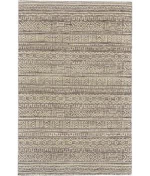 LEON 0126F IN WHITE/GRAY 5' x 8'