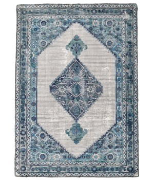 BETHANIA 8747F IN BLUE/WHITE 5' x 8'