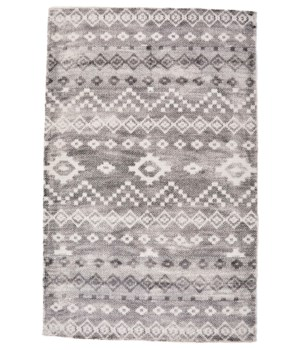 BETHANIA 8748F IN IVORY/CHARCOAL 2' x 3'