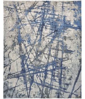 GEMMA 6878F IN GRAY/BLUE 2' x 3'