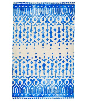 "GARCIA 8760F IN BLUE 3'-6"" x 5'-6"""