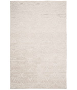 "NORAH 6061L IN NATURAL/IVORY 5'-6"" x 8'-6"""