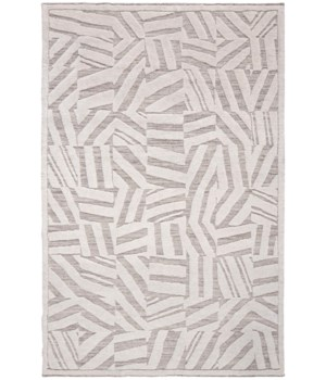 "NORAH 6063L IN IVORY/GRAY 5'-6"" x 8'-6"""