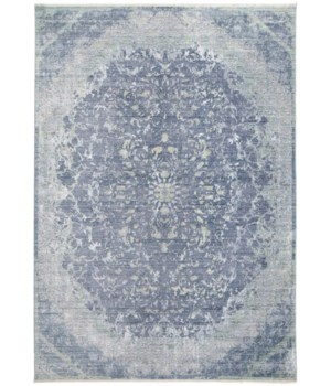 CECILY 3572F IN BLUE/TURQUOISE 8' x 8' Square