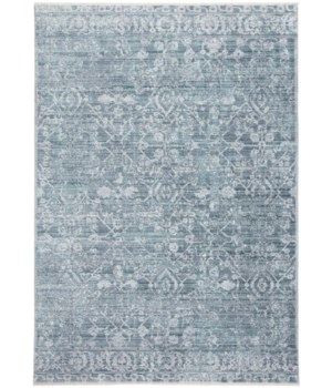 CECILY 3595F IN BLUE/TURQUOISE 8' x 8' Square
