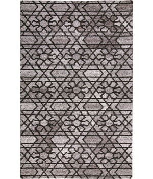 """ASHER 8766F IN GRAY/CHARCOAL 1'-6"""" X 1'-6"""" Square"""