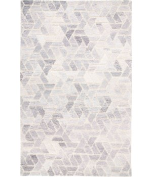 ASHER 8767F IN LIGHT GRAY/NATURAL 5' x 8'