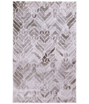 """ASHER 8769F IN GRAY/NATURAL 1'-6"""" X 1'-6"""" Square"""
