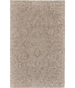 RHETT I8075 IN TAUPE 5' x 8'