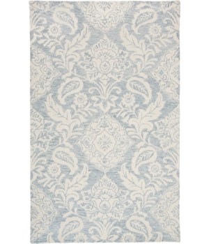 "BELFORT 8776F IN BLUE/GRAY 1'-6"" X 1'-6"" Square"
