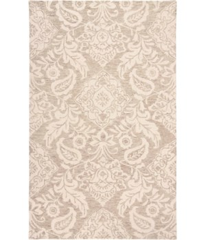 "BELFORT 8776F IN TAUPE/IVORY 1'-6"" X 1'-6"" Square"