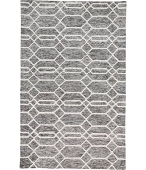 "BELFORT 8777F IN CHARCOAL/IVORY 1'-6"" X 1'-6"" Square"