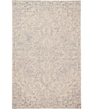 "BELFORT 8831F IN GRAY/IVORY 1'-6"" X 1'-6"" Square"