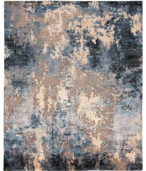 "GIA 6491F IN BLUE 5'-6"" x 8'-6"""