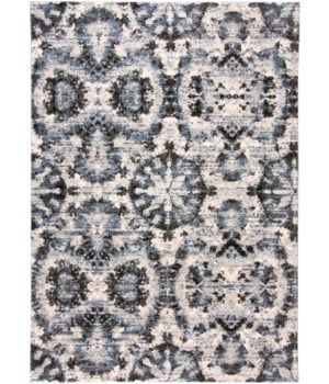 """AINSLEY 3895F IN CHARCOAL/BLUE 10' X 13'-2"""""""