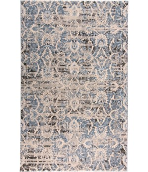 """AINSLEY 3901F IN BLUE/IVORY 4'-3"""" X 6'-3"""""""