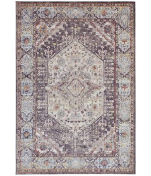 """ARMANT 3907F IN CHARCOAL/MULTI 9'-5"""" X 12'-5"""""""