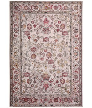 """ARMANT 3945F IN PINK/IVORY 4' X 5'-9"""""""