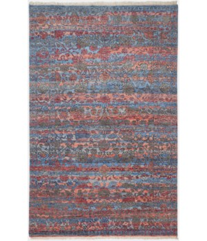 "MARIELL 6702F IN PINK / SUNSET 5'-6"" x 8'-6"""
