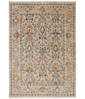 "WESLEY 3919F IN IVORY/MULTI 9'-6"" X 12'-6"""