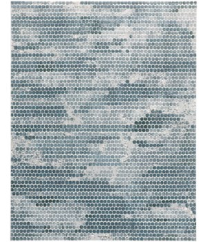 ATWELL 3171F IN BLUE/SILVER 3' x 5'