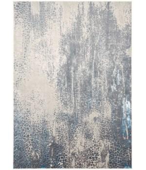 AZURE 3401F IN GRAY/BLUE 5' x 8'