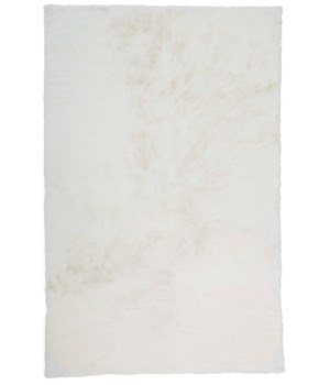 LUXE VELOUR 4506F IN WHITE 4' x 6'