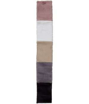 LUXE VELOUR COLOR IN ASSORTED 1' X 7'