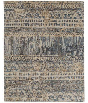 PALOMAR 6591F IN BLUE/BEIGE 2' x 3'